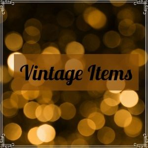 All Things Vintage 1930s-90s!